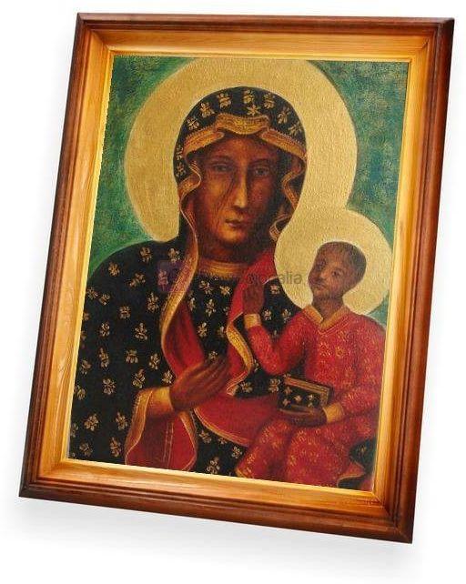 Obraz Matka Boska Częstochowska - 47x37