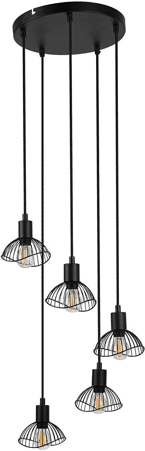 Activejet Aje-Holly 8 Bla Lampa ,Czarny ,5 Żarówek