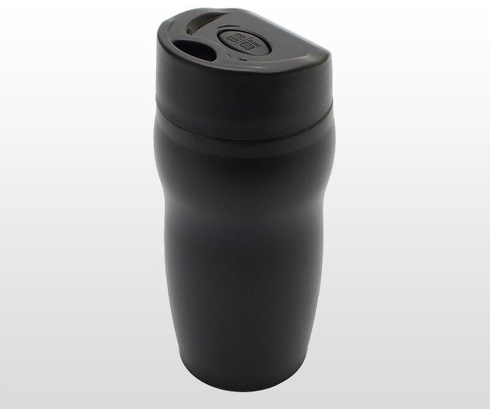 Kubek termiczny 270 ml SMILE (czarny)