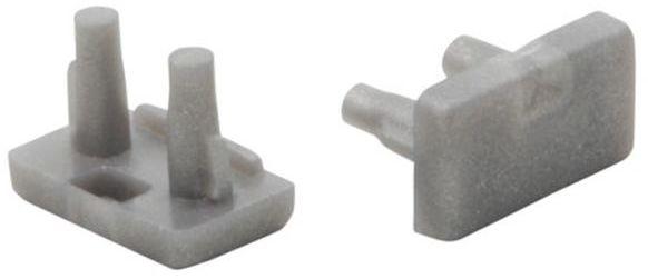 Zaślepka do profili aluminiowych LED STOPPER B 19181 (kpl 2 szt.)