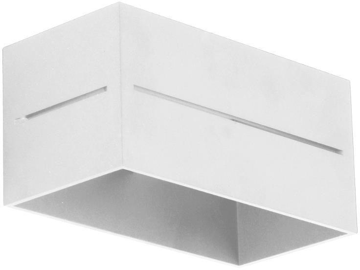 Kinkiet ścienny E051-Quade - biały