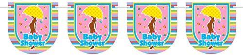 Łańcuch chorągiewek Baby Shower 6 m baby shower