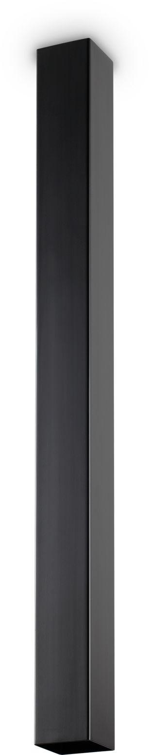 Plafon Sky 233970 Ideal Lux nowoczesna oprawa w kolorze czarnym