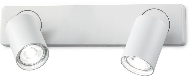 Kinkiet Rudy 229041 Ideal Lux nowoczesna oprawa w kolorze białym