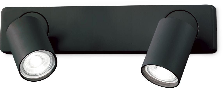 Kinkiet Rudy 229034 Ideal Lux nowoczesna oprawa w kolorze czarnym