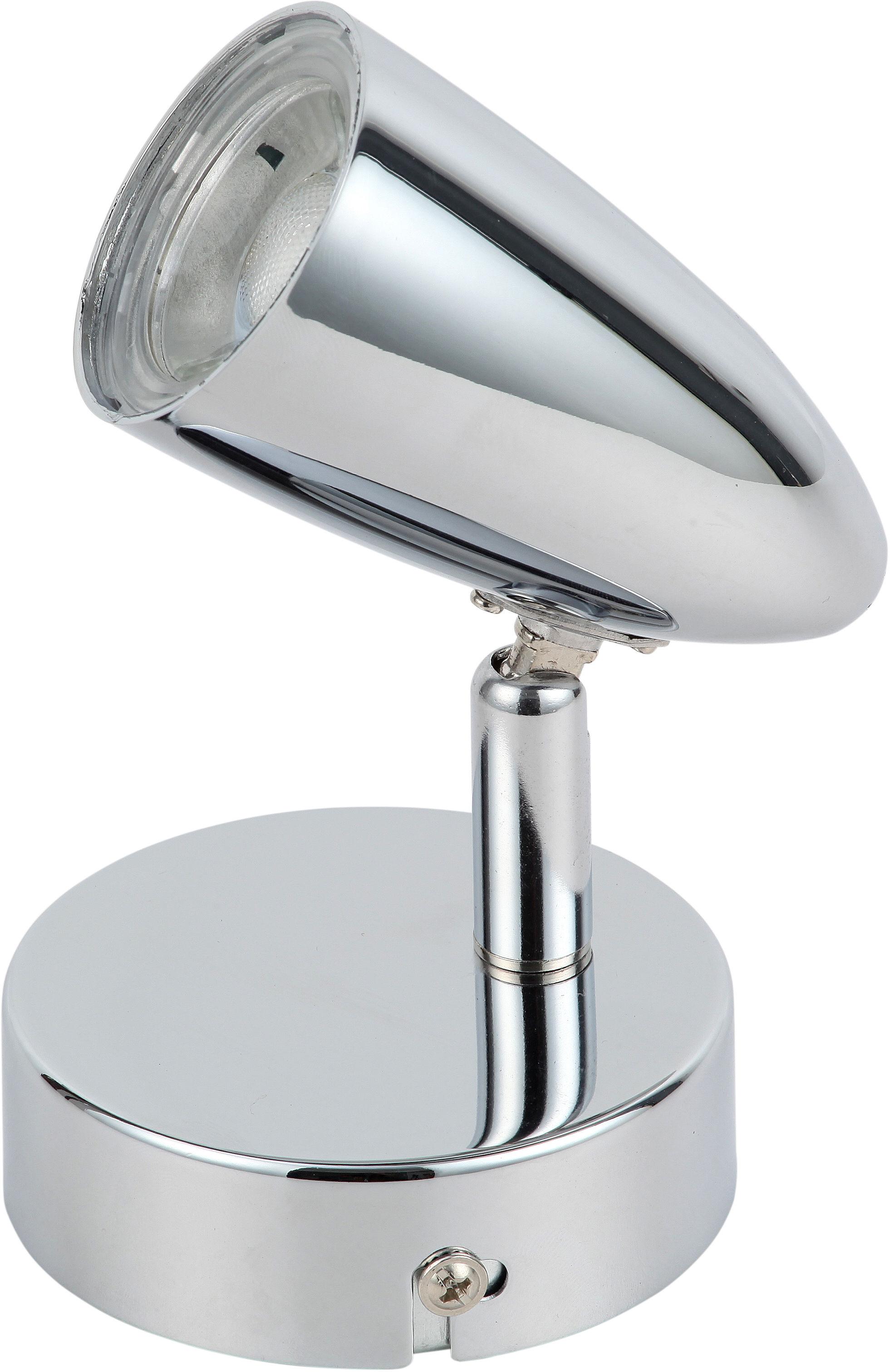 Candellux LIBERTY 91-49551 kinkiet lampa ścienna chrom 1X4W LED 5cm