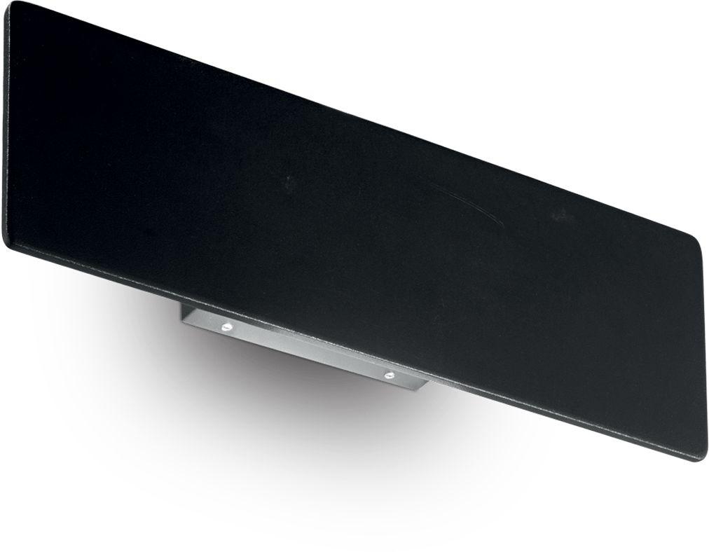 Kinkiet Zig Zag 179315 Ideal Lux nowoczesna lampa ścienn w kolorze czarnym