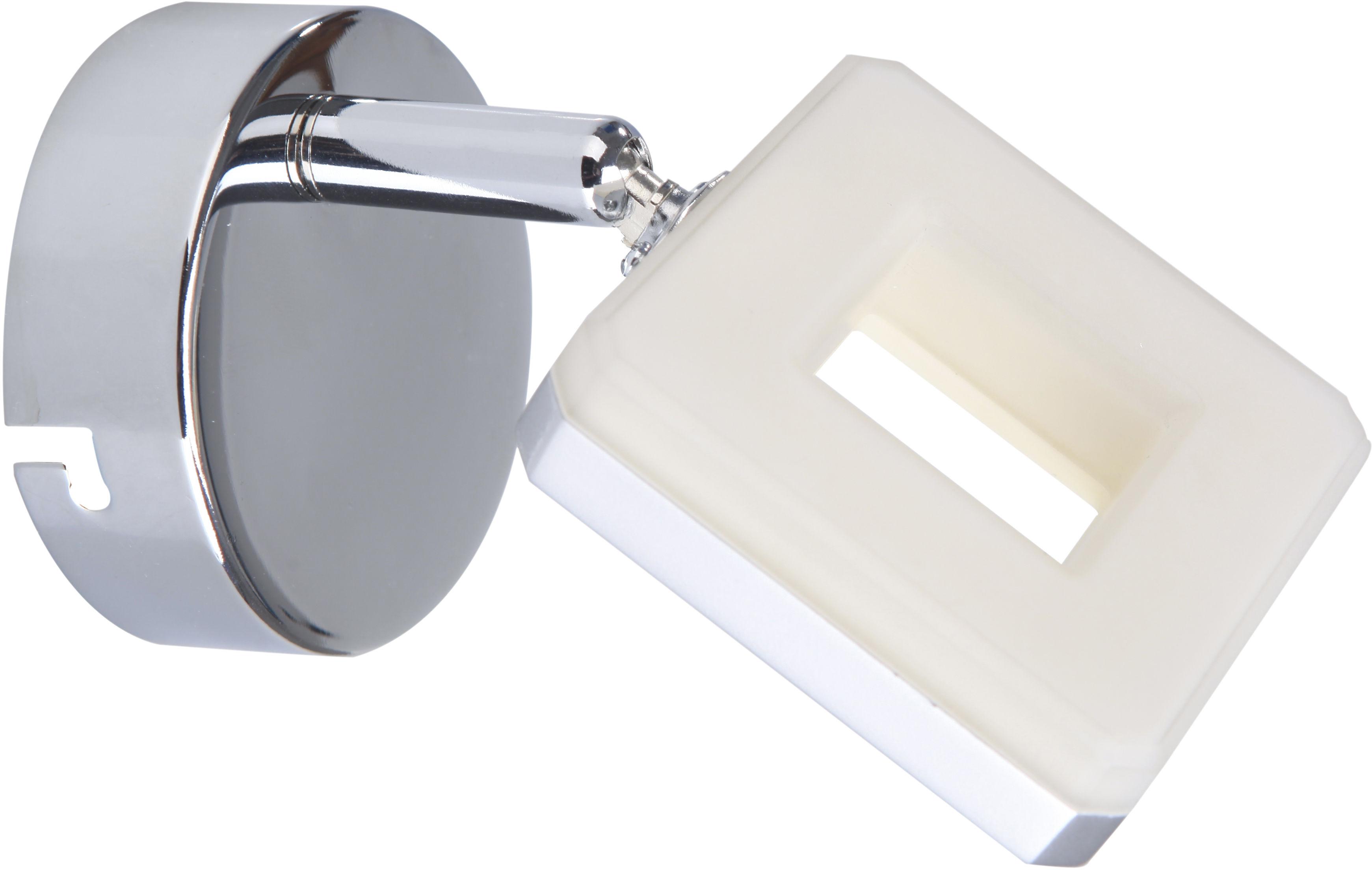Candellux CYNTHIA 91-60808 kinkiet lampa ścienna chrom 1X5W LED 8cm