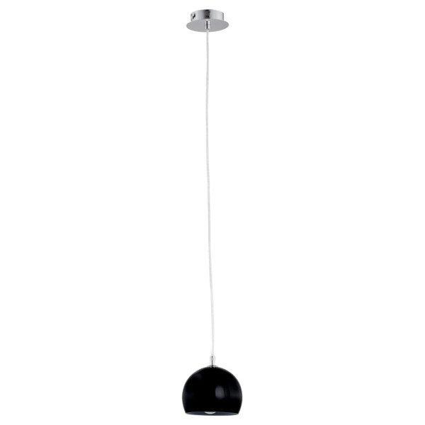 Lampa wisząca zwis WATERFALL czarna śr. 14cm