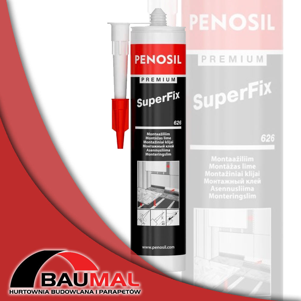 Klej montażowy PENOSIL do listew SuperFix 310ml