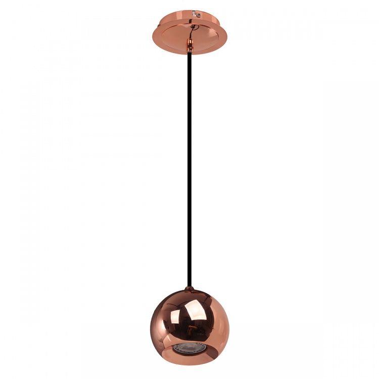 Lampa wisząca kula miedziana James Copper FH5951-BCB-120 RC Italux