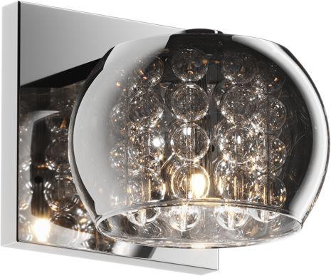 ŻARÓWKA LED GRATIS! Kinkiet Crystal W0076-01A-B5FZ Zuma Line kryształowa oprawa ścienna