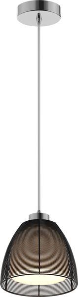 ŻARÓWKA LED GRATIS! Lampa wisząca Pico MD9023-1S Zuma Line nowoczesna oprawa w kolorze czarnym