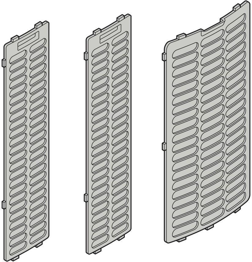 PAE 45 filtr powietrza (3-częściowy)