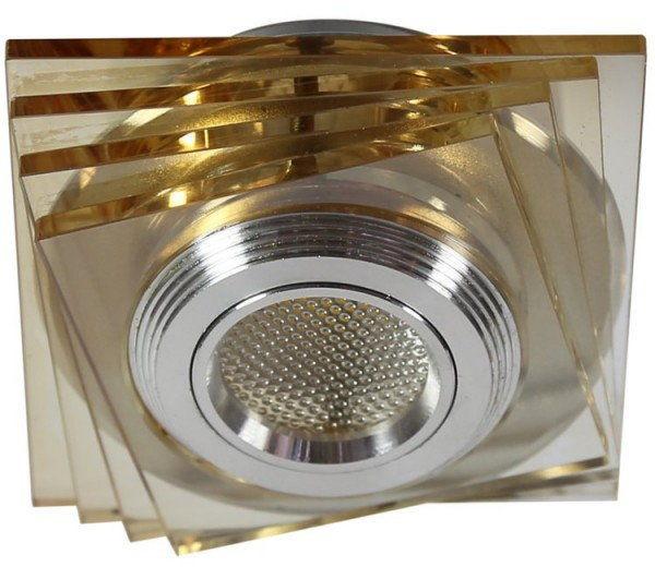 SS-32 LED oprawa sufitowa do zabudowy kwadratowa bursztynowa 2228747