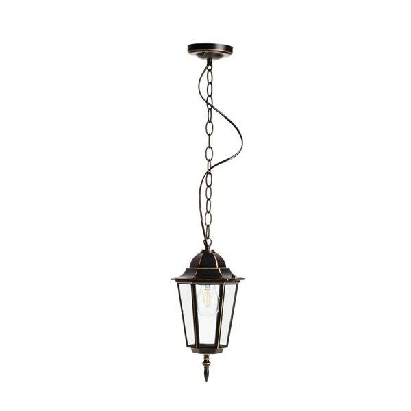 Lampa ogrodowa LO4105 CZARNO-ZŁOTA