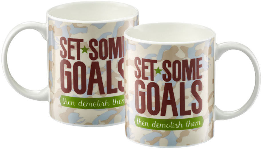 AMBITION INSPIRE KUBEK 350 ML / SET SOME GOALS / PORCELANA / 63478