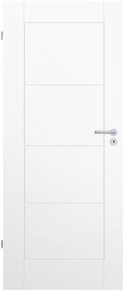 Skrzydło drzwiowe pełne Trim W 60 Lewe Białe Porta