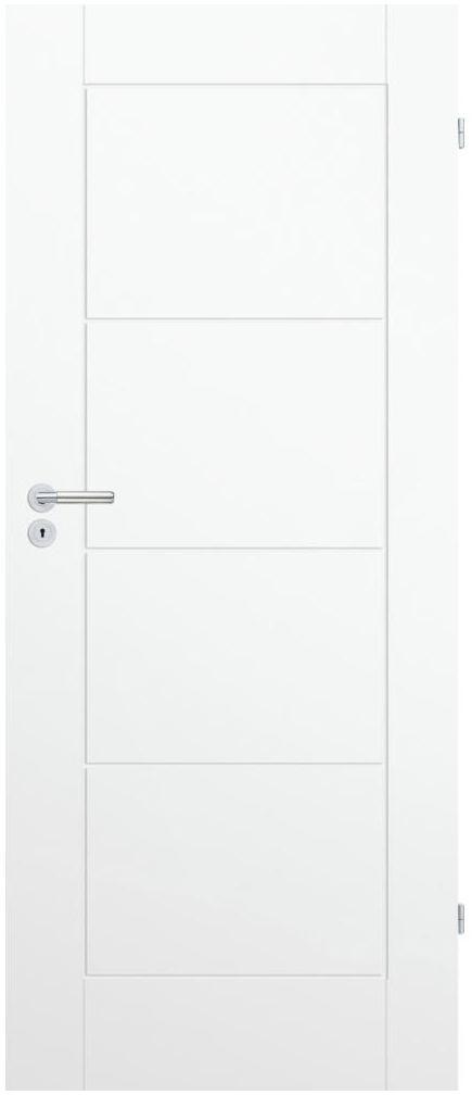 Skrzydło drzwiowe pełne Trim W 60 Prawe Białe Porta