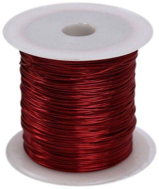 Drucik florystyczny 0.45x30m Titanum 4868-DF 339373, Kolor: Czerwony