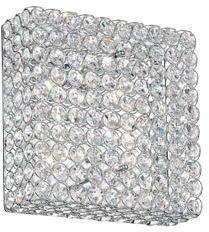 Plafon ADMIRAL PL4 080338 Ideal Lux transparentna oprawa w kryształowym stylu