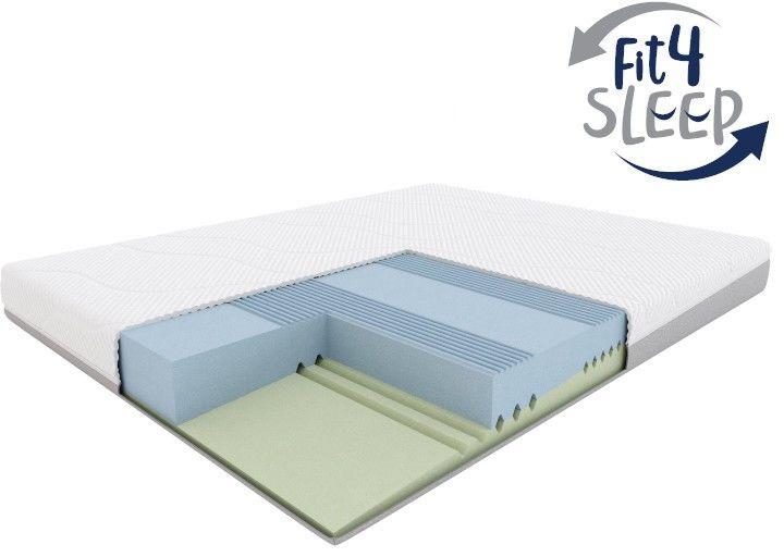 Fit.4.Sleep H2/H3  materac piankowy, Rozmiar - 80x200 WYPRZEDAŻ, WYSYŁKA GRATIS, 603-671-572