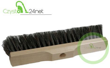 Szczotka do zamiatania drewniana (włosie pcv)