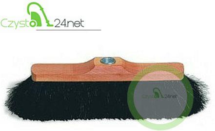 Szczotka do zamiatania drewniana (włosie mieszane) 30cm