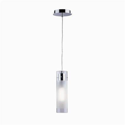 Lampa wisząca Flam SP1 Small 027357 Ideal Lux transparentna oprawa w nowoczesnym stylu