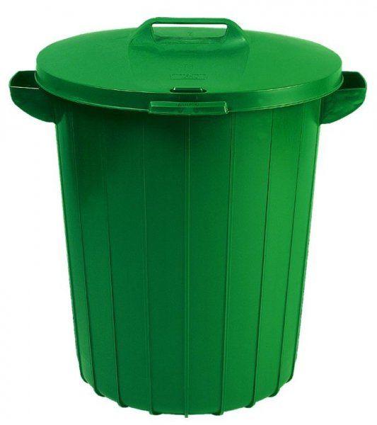 Pojemnik na odpady 90L zielony