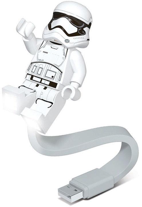 LEGO Star Wars - Lampka z klipsem Stormtrooper - LGL-CL11