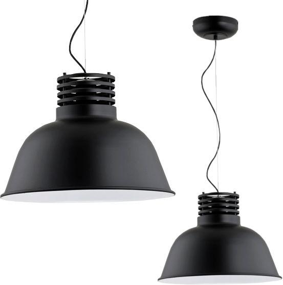 Lampa wisząca nad blat ARIZONA czarna śr. 41cm