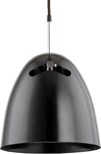 Lampa wisząca nad stolik BOLO czarna śr. 25cm