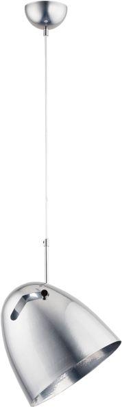Lampa wisząca nad stolik BOLO srebrna śr. 25cm