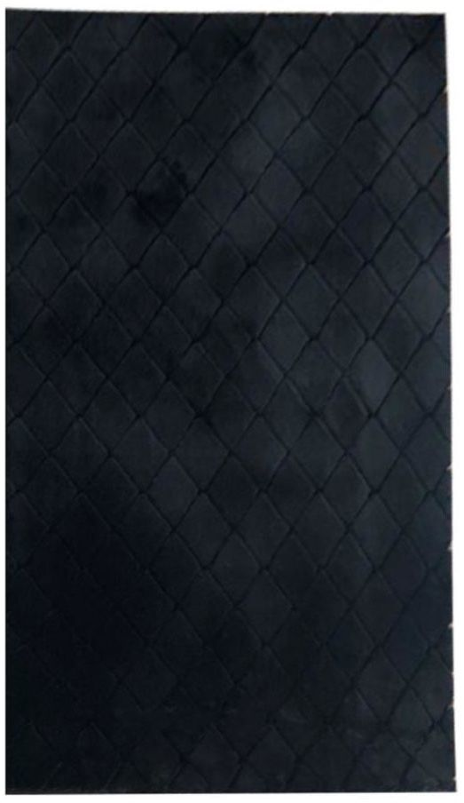 Dywan shaggy Modena czarny 60 x 100 cm