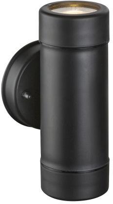 Globo COTOPA 32005-2 kinkiet lampa ścienna zewnętrzna czarna 2xGU10 5W 16cm IP44