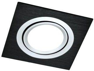 Oczko halogenowe SOUTH OPAL GU10 50W 302090 Czarny szczotkowany POLUX