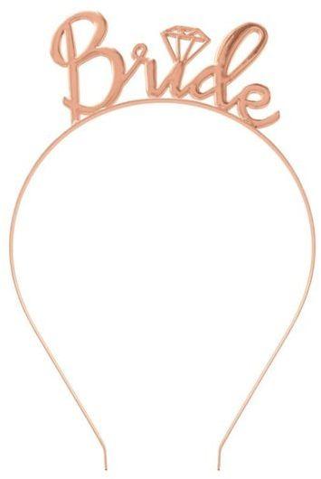 Opaska na Wieczór Panieński Bride różowe złoto 1 sztuka 511386