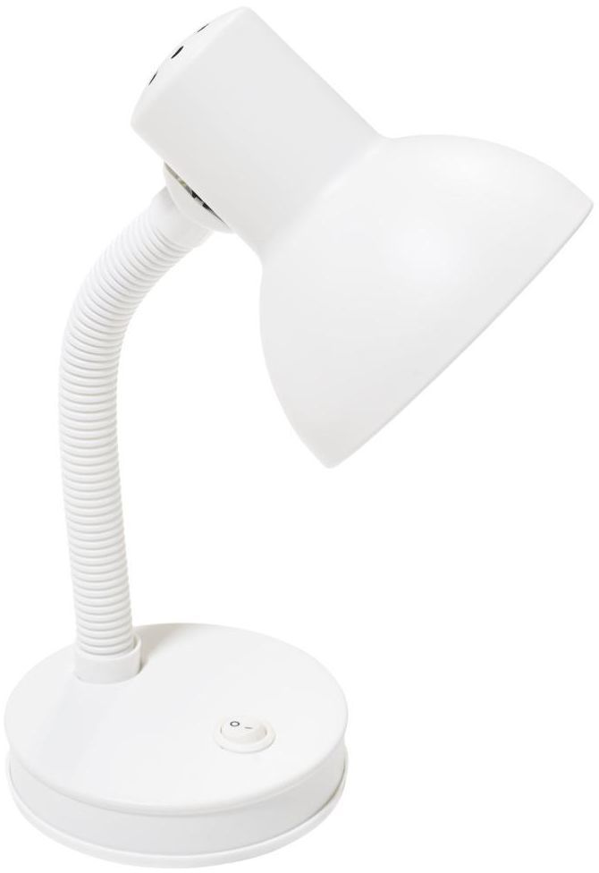 Lampka biurkowa BURO biała matowa E27 INSPIRE