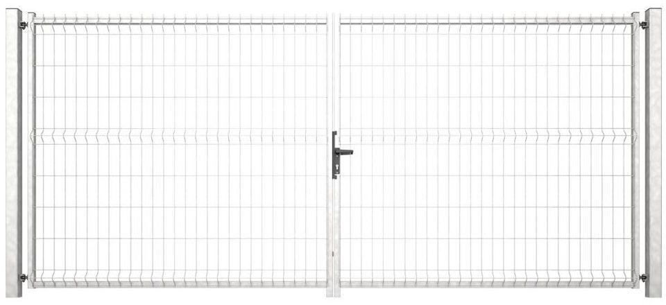 Brama dwuskrzydłowa VERA 400 x 173 cm ocynk WIŚNIOWSKI