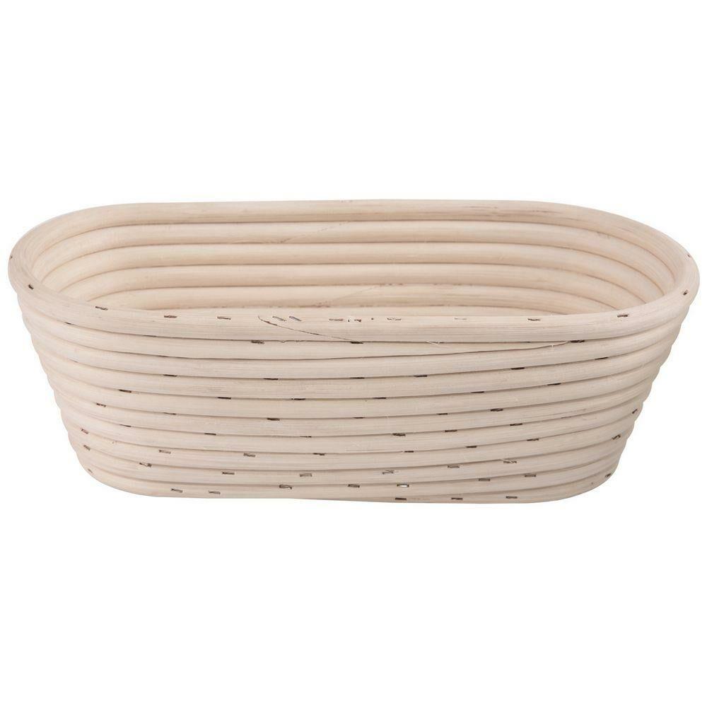 Koszyk rattanowy do wyrastania garowania chleba ciasta na chleb 1kg 26x13x9 cm