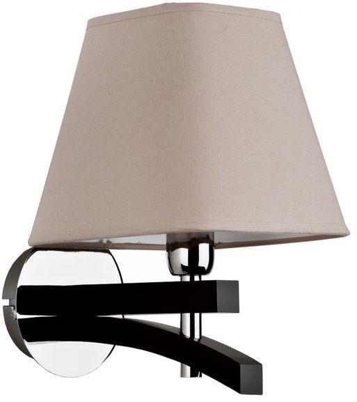 Nowoczesna lampa ścienna AMARTI I metal śr. 24cm