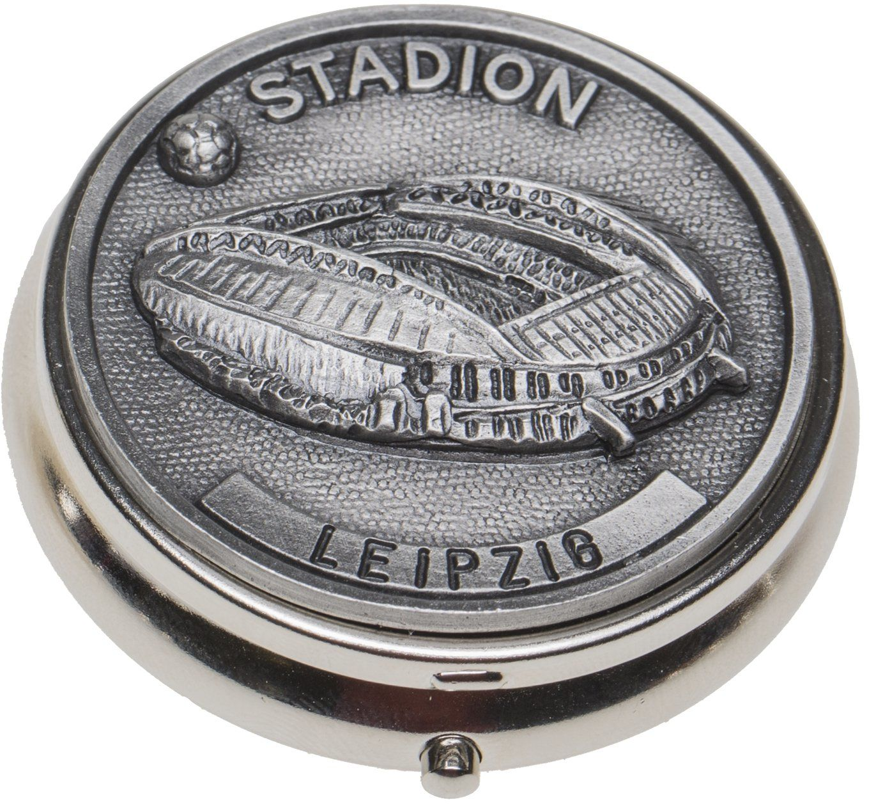 Schnabel-Schmuck Leipzig popielniczka, cyna, stadion piłkarski