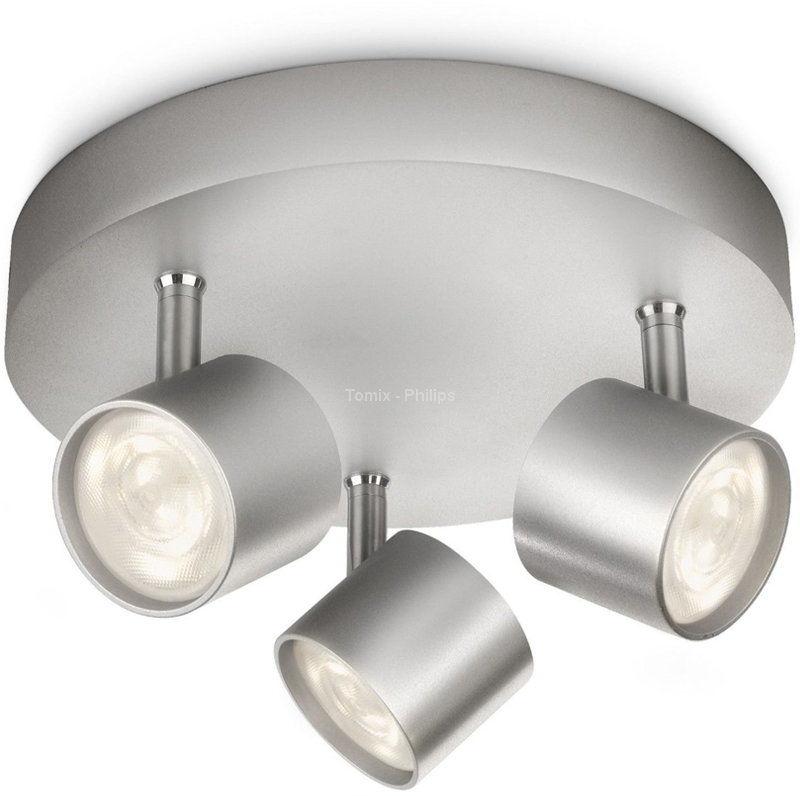 56243/48/16 PHILIPS STAR Lampa plafon aluminium 56243/48/16
