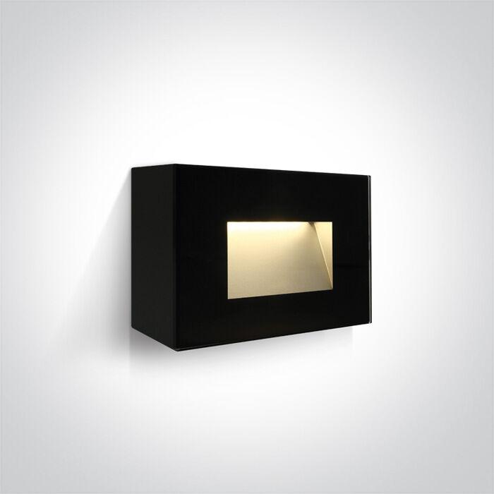 Kinkiet zewnętrzny Koftra 67076/B/W - ONE Light