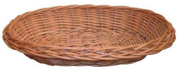 Owalny Koszyk Wiklinowy 21x16 cm
