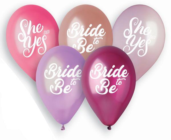 Balony na Wieczór Panieński Ladies Night 30cm 5szt GMS120/LNG