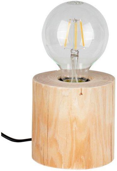 TRABO TABLE lampa stołowa drewno sosnowe kolor naturalna sosna, 76911150