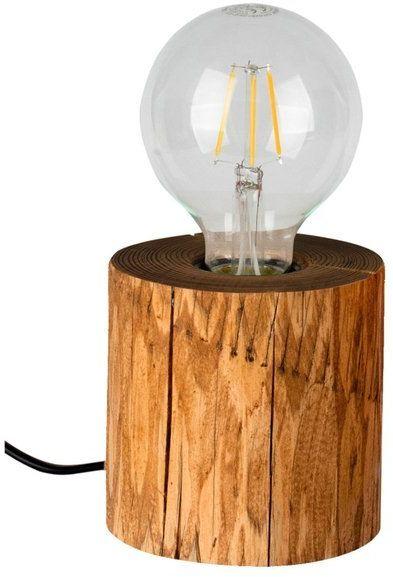 TRABO TABLE lampa stołowa drewno sosnowe kolor sosna bejcowana, 76911151
