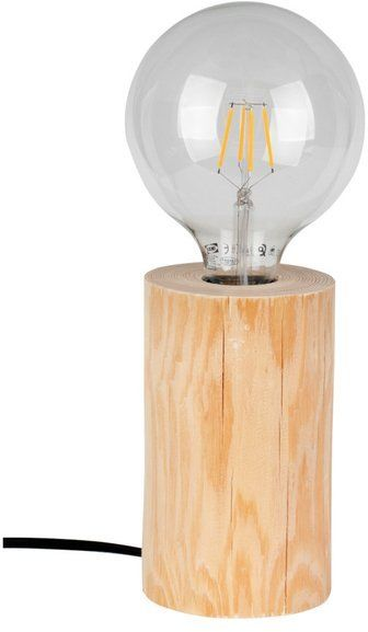 TRABO TABLE lampa stołowa drewno sosnowe kolor naturalna sosna, 76910150